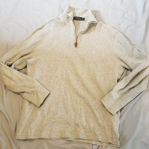 Polo Ralph Lauren Quarter Zip Sweater - M